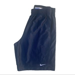 Vintage Nike Basketball Navy Shorts Size M